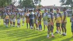 Ex-jogadores da região de Cacoal participam de jogo e revertem arrecadação à guarda-mirim