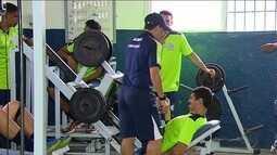 Confiança inicia os trabalhos físicos visando a temporada 2018