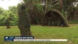 Presépios podem ser vistos em vários espaços e ao ar livre em Belo Horizonte