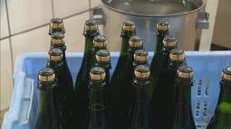 Produtores do Sul de Minas crescem com vendas de champanhe para festas de fim de ano