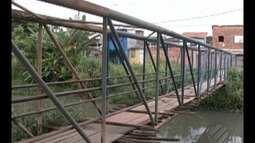 Vistoria do Calendário JL retorna até ponte na travessa Timbó, no Telégrafo