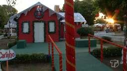 Casinha do Papai Noel começa a funcionar na Praça Barão de Santarém