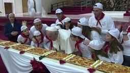 Papa Francisco completa 81 anos neste domingo (17)
