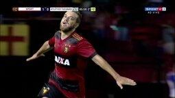 Os gols de Sport 2 x 0 Atlético Tucumán pela Taça Ariano Suassuna
