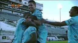 Gol do Barcelona-EQU! Castillo cruza e Betancourt chega batendo, aos 12 do 2º