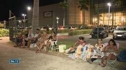 Biometria em Vila Velha, tem mais um dia de longas filas