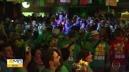 Blocos de carnaval fazem ensaios para deixar tudo pronto pra os quatro dias de folia em BH