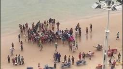 Homem morre afogado ao auxiliar no resgate de crianças em praia