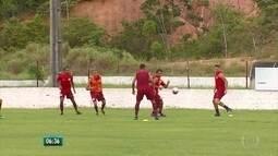 Náutico faz treino fechado na véspera da estreia do Campeonato Pernambucano