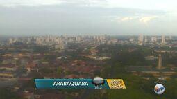 Veja como fica o tempo em Araraquara nesta sexta-feira (19)