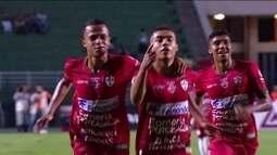 Os gols de Palmeiras 1 (2) x (3) 1 Portuguesa pelas quartas da Copa SP 2018