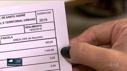 Aumento do IPTU assusta moradores de Santo André