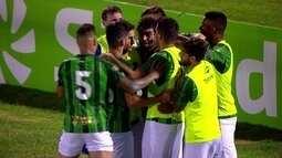 Os gols de Guarani 3 x 0 Água Santa pelo Campeonato Paulista