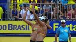Maria Elisa e Carol vencem Duda e Agatha no Circuito Brasileiro de vôlei de praia feminino