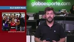 Giro GE fala de armador do Fla, McLaren, Serena Williams e Usain Bolt