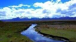 Aventura na Cordilheira dos Andes
