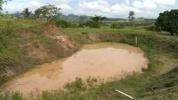 Produtores de Cachoeiro de Itapemirim, ES, dizem que chuva não foi suficiente na região