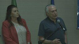 Presidente Michel Temer se reúne com autoridades de Roraima para discutir imigração