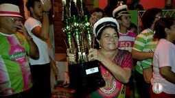 Escola de samba Balanço do Morro vence carnaval 2018, em Natal