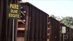Indice de acidentes com trem aumenta em Três Rios, RJ