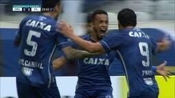 O gol de Cruzeiro 1 x 0 Vila Nova pela sétima rodada do Campeonato Mineiro