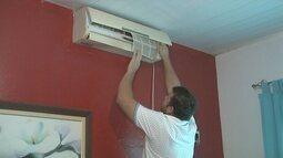 Proprietários de ar-condicionado devem ficar atentos com a limpeza dos aparelhos