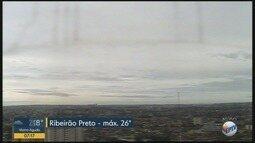 Confira a previsão do tempo para segunda-feira (19) em Ribeirão Preto