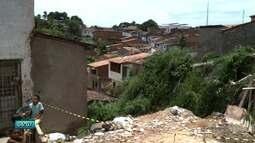 Fortes chuvas causam tragédia no bairro do Jacintinho