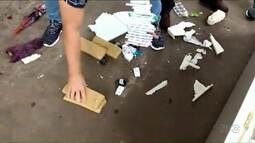 Polícia apreende drogas e celulares dentro de geladeira enviada para delegacia em Cambé