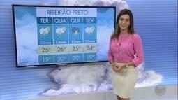 Veja a previsão do tempo para esta terça-feira (20) na região de Ribeirão Preto