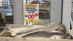 Procura por bacalhau na Quaresma tem aumento de 50%