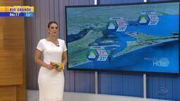 Tempo: litoral gaúcho pode ter pancadas de chuva isoladas nesta sexta-feira (23)
