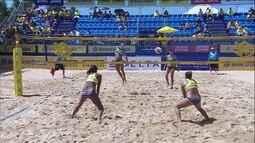 Ana Patrícia e Rebecca ficam em 3º lugar na 5ª etapa do Circ. Brasileiro de vôlei de praia