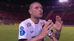 Guilherme Mattis explica lambança em gol do Vitória