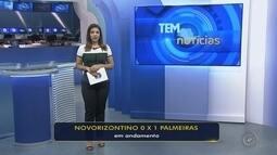 Novorizontino encara o Palmeiras no Campeonato Paulista