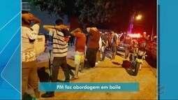 Sete pessoas são presas em baile para promover o tráfico