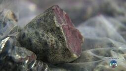 Pedras apreendidas com trio em Jaú eram rubis, diz laudo da PF
