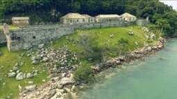 NSC TV exibe programa especial sobre as 'Fortalezas da Ilha' neste sábado (24)