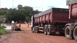 Moradores do Piauí e Maranhão reivindicam construção de ponte em Santa Filomena