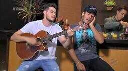 Bruno e Barretto cantam sucessos no É Bem Mato Grosso - Bloco 01