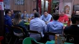 Empresários de Rio Preto fazem caravana para saborear as delícias do 'Comida di Buteco'