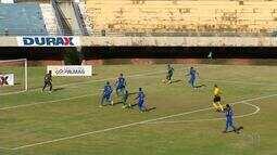 No encontro dos maiores campeões do estado, Gurupi bate o Palmas por 2 a 0 fora de casa