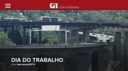 G1 em 1 Minuto: Até 320 mil veículos devem se dirigir ao litoral de SP no feriadão