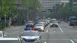 Encontro histórico: Kim Jong-un vai atravessar a fronteira das Coreias pela 1ª vez