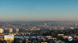 Confira a previsão do tempo nesta quinta-feira (24) em Ribeirão Preto