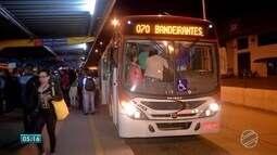 Ônibus são reduzidos e postos ficam sem combustíveis em MS