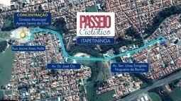 Passeio Ciclístico em Itapetininga será no dia 10 de junho
