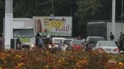 Greve dos caminhoneiros: veja a situação de SC neste sábado (26)