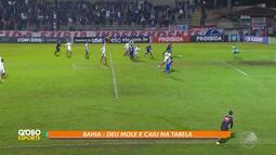 Bahia perde partida contra o Paraná e continua na zona de rebaixamento do Brasileirão