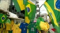 Copa 2018: venda de ambulantes cresce em Cachoeiro, no sul do ES